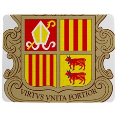 Coat Of Arms Of Andorra Jigsaw Puzzle Photo Stand (rectangular) by abbeyz71