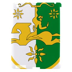 Coat Of Arms Of Abkhazia Apple Ipad 3/4 Hardshell Case (compatible With Smart Cover) by abbeyz71
