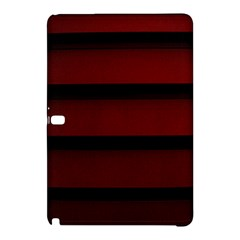 Line Red Black Samsung Galaxy Tab Pro 10 1 Hardshell Case