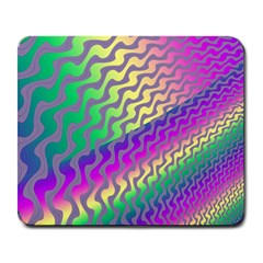 Line Colour Wiggles Large Mousepads by Jojostore