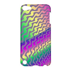 Line Colour Wiggles Apple Ipod Touch 5 Hardshell Case by Jojostore