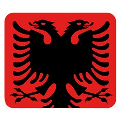 Coat Of Arms Of Albania Double Sided Flano Blanket (small)  by abbeyz71