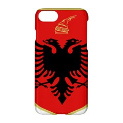 Coat Of Arms Of Albania Apple Iphone 7 Hardshell Case