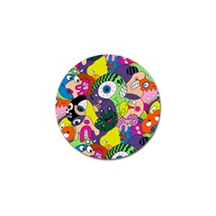 Another Weird Pattern Golf Ball Marker (10 Pack) by Jojostore