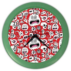 Another Monster Pattern Color Wall Clocks by Jojostore