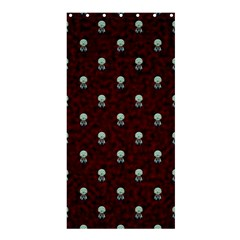 Bloody Cute Zombie Shower Curtain 36  X 72  (stall)  by Jojostore