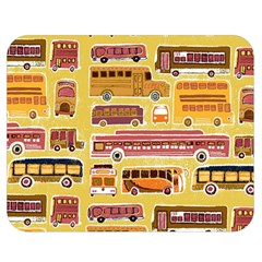 Bus Cartoons Logo Double Sided Flano Blanket (medium)  by Jojostore