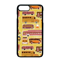 Bus Cartoons Logo Apple iPhone 7 Plus Seamless Case (Black) by Jojostore