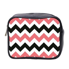 Chevron Crazy On Pinterest Blue Color Mini Toiletries Bag 2 Side by Jojostore