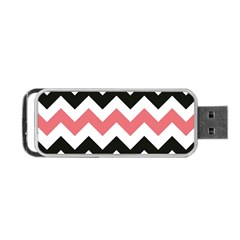 Chevron Crazy On Pinterest Blue Color Portable Usb Flash (two Sides) by Jojostore