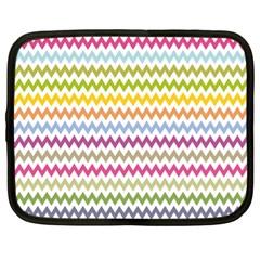 Color Full Chevron Netbook Case (xl)  by Jojostore