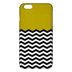 Colorblock Chevron Pattern Mustard Iphone 6 Plus/6s Plus Tpu Case by Jojostore