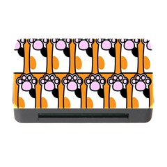 Cute Cat Hand Orange Memory Card Reader With Cf by Jojostore
