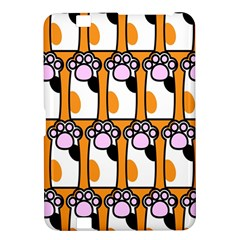 Cute Cat Hand Orange Kindle Fire Hd 8 9  by Jojostore