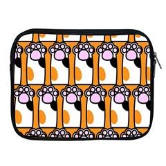 Cute Cat Hand Orange Apple Ipad 2/3/4 Zipper Cases by Jojostore
