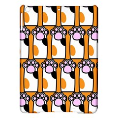 Cute Cat Hand Orange Ipad Air Hardshell Cases by Jojostore