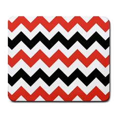 Colored Chevron Printable Large Mousepads by Jojostore