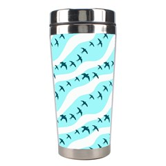 Darkl Ight Fly Blue Bird Stainless Steel Travel Tumblers by Jojostore
