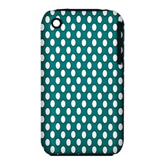 Circular Pattern Blue White Iphone 3s/3gs by Jojostore