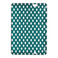 Circular Pattern Blue White Kindle Fire Hdx 8 9  Hardshell Case by Jojostore