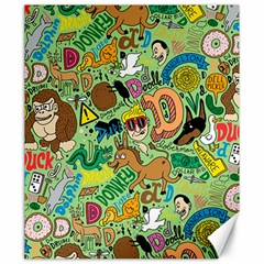 D Pattern Canvas 20  X 24   by Jojostore