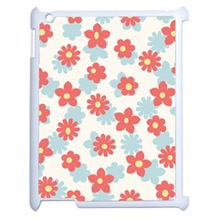 Flower Pink Apple Ipad 2 Case (white) by Jojostore