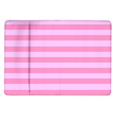 Fabric Baby Pink Shades Pale Samsung Galaxy Tab 10 1  P7500 Flip Case by Jojostore