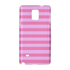 Fabric Baby Pink Shades Pale Samsung Galaxy Note 4 Hardshell Case by Jojostore