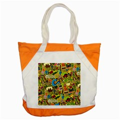 C Pattern Accent Tote Bag by Jojostore