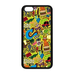 C Pattern Apple Iphone 5c Seamless Case (black) by Jojostore