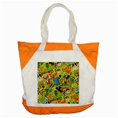 F Pattern Cartoons Accent Tote Bag by Jojostore