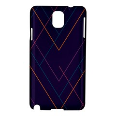 Line Color Samsung Galaxy Note 3 N9005 Hardshell Case