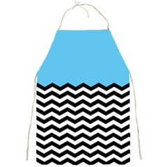 Color Block Jpeg Full Print Aprons by Jojostore