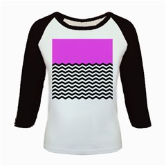 Colorblock Chevron Pattern Jpeg Kids Baseball Jerseys by Jojostore