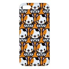 Face Cat Yellow Cute Iphone 5s/ Se Premium Hardshell Case by Jojostore