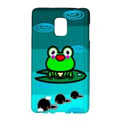 Frog Tadpole Green Galaxy Note Edge by Jojostore