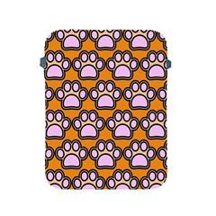 Dog Foot Orange Soles Feet Apple Ipad 2/3/4 Protective Soft Cases by Jojostore