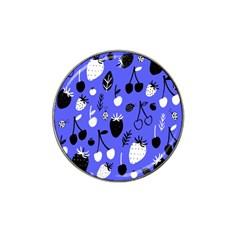 Fruit Strobery Leci Purple Hat Clip Ball Marker (4 Pack) by Jojostore