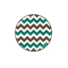 Green Chevron Hat Clip Ball Marker (10 Pack) by Jojostore