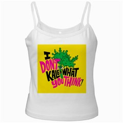 Idont Kale Think Ladies Camisoles by Jojostore