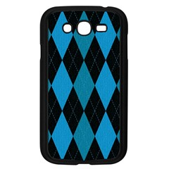Fabric Background Samsung Galaxy Grand Duos I9082 Case (black) by Jojostore