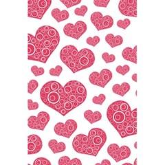Heart Love Pink Back 5 5  X 8 5  Notebooks by Jojostore