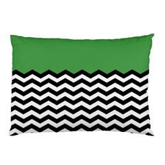 Lime Green Chevron Pillow Case by Jojostore