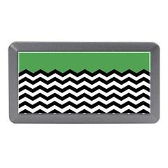 Lime Green Chevron Memory Card Reader (mini) by Jojostore