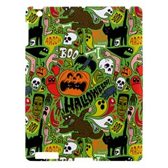 Halloween Pattern Apple Ipad 3/4 Hardshell Case by Jojostore