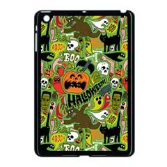 Halloween Pattern Apple Ipad Mini Case (black) by Jojostore
