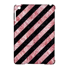 Stripes3 Black Marble & Red & White Marble Apple Ipad Mini Hardshell Case (compatible With Smart Cover) by trendistuff