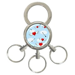 Love Hunting 3 Ring Key Chains by Valentinaart