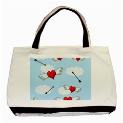 Love Hunting Basic Tote Bag (two Sides) by Valentinaart