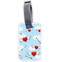 Love Hunting Luggage Tags (two Sides) by Valentinaart